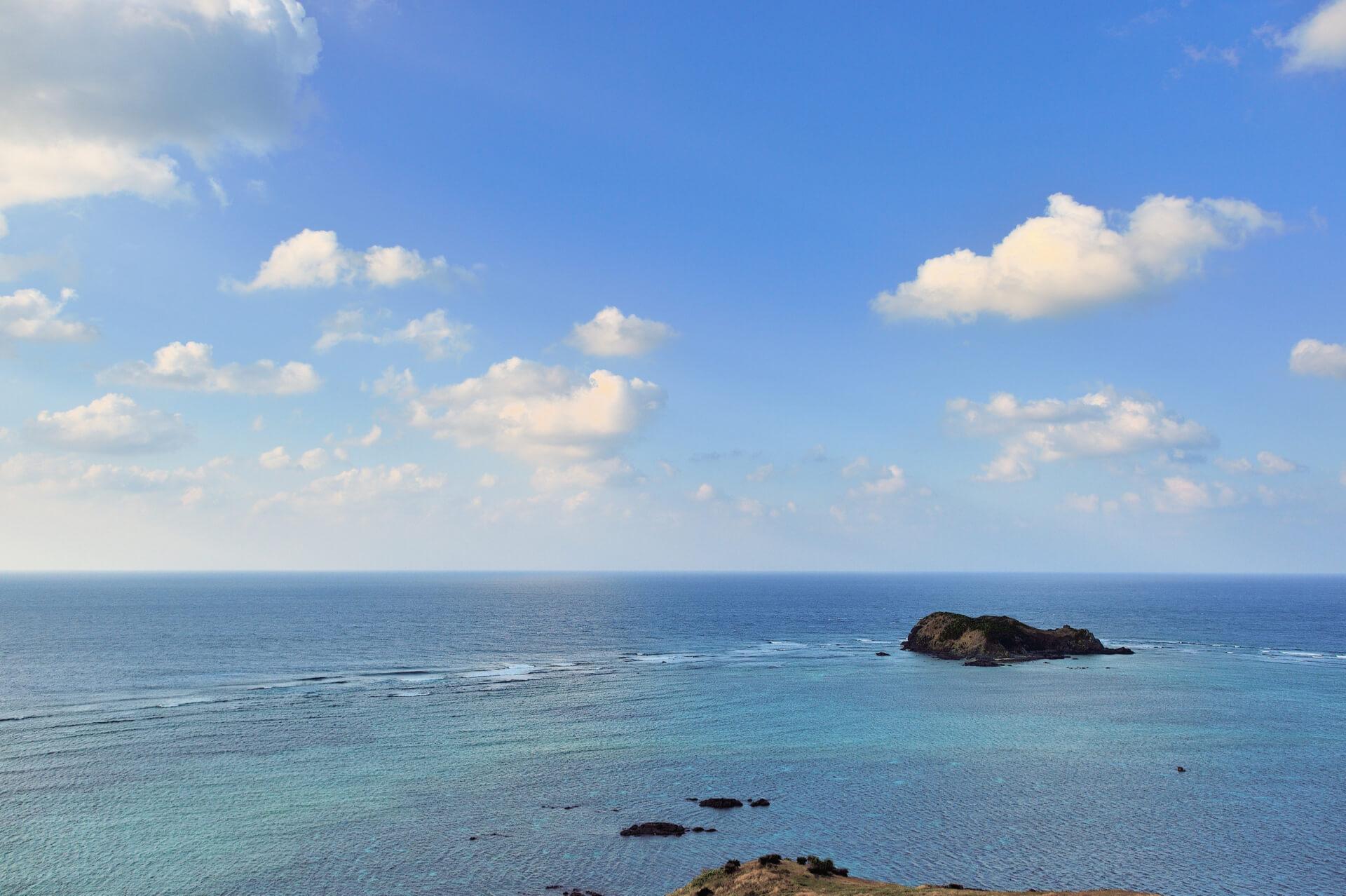 平久保灯台、石垣島