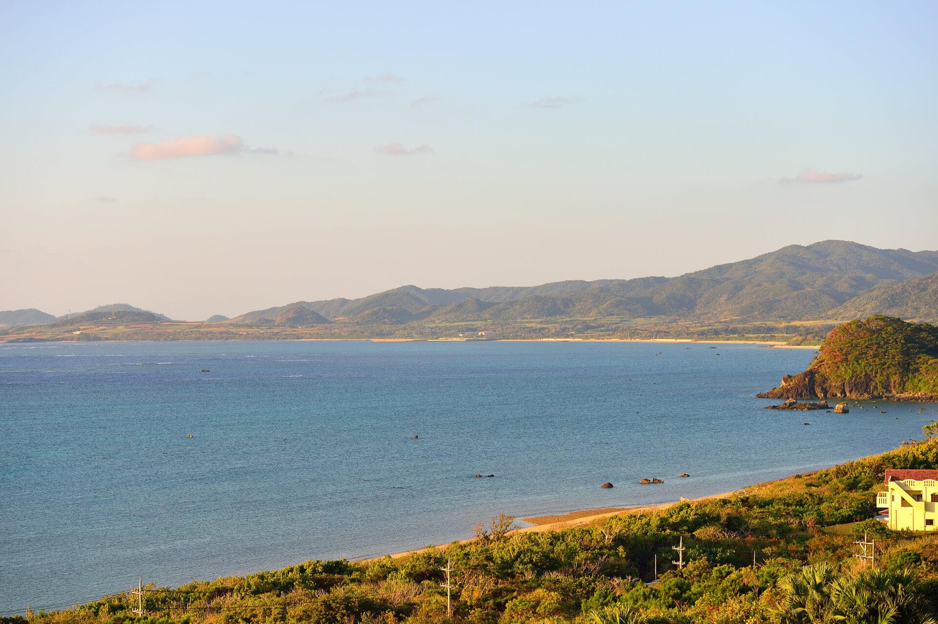 玉取崎展望台、石垣島