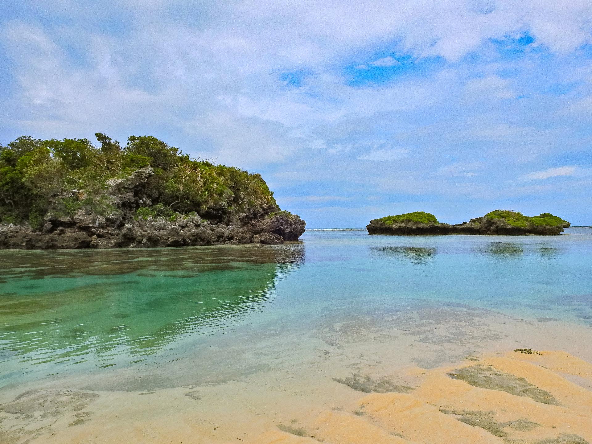西表島,星砂の浜