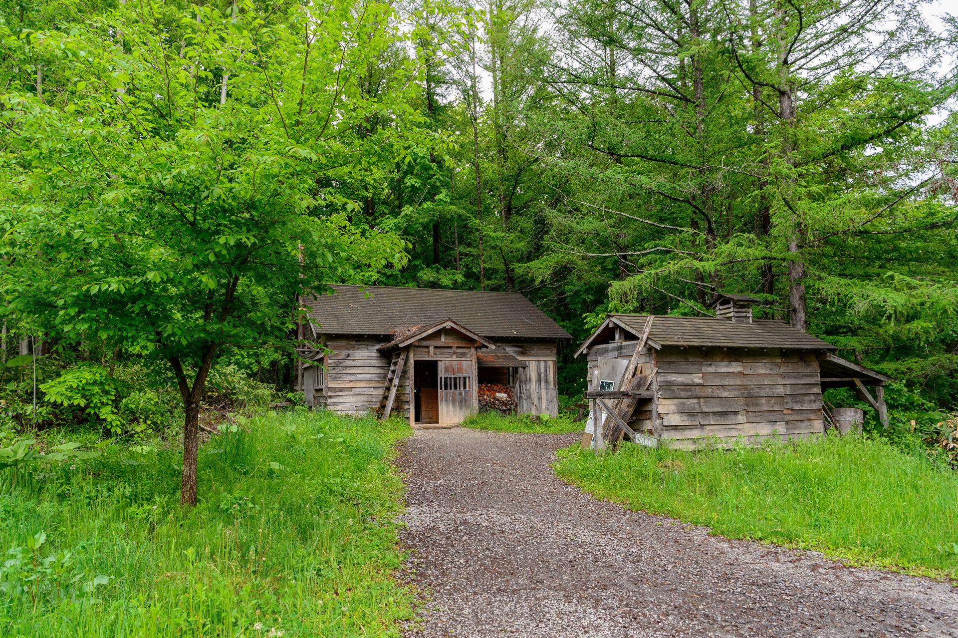 北の国から、最初の家