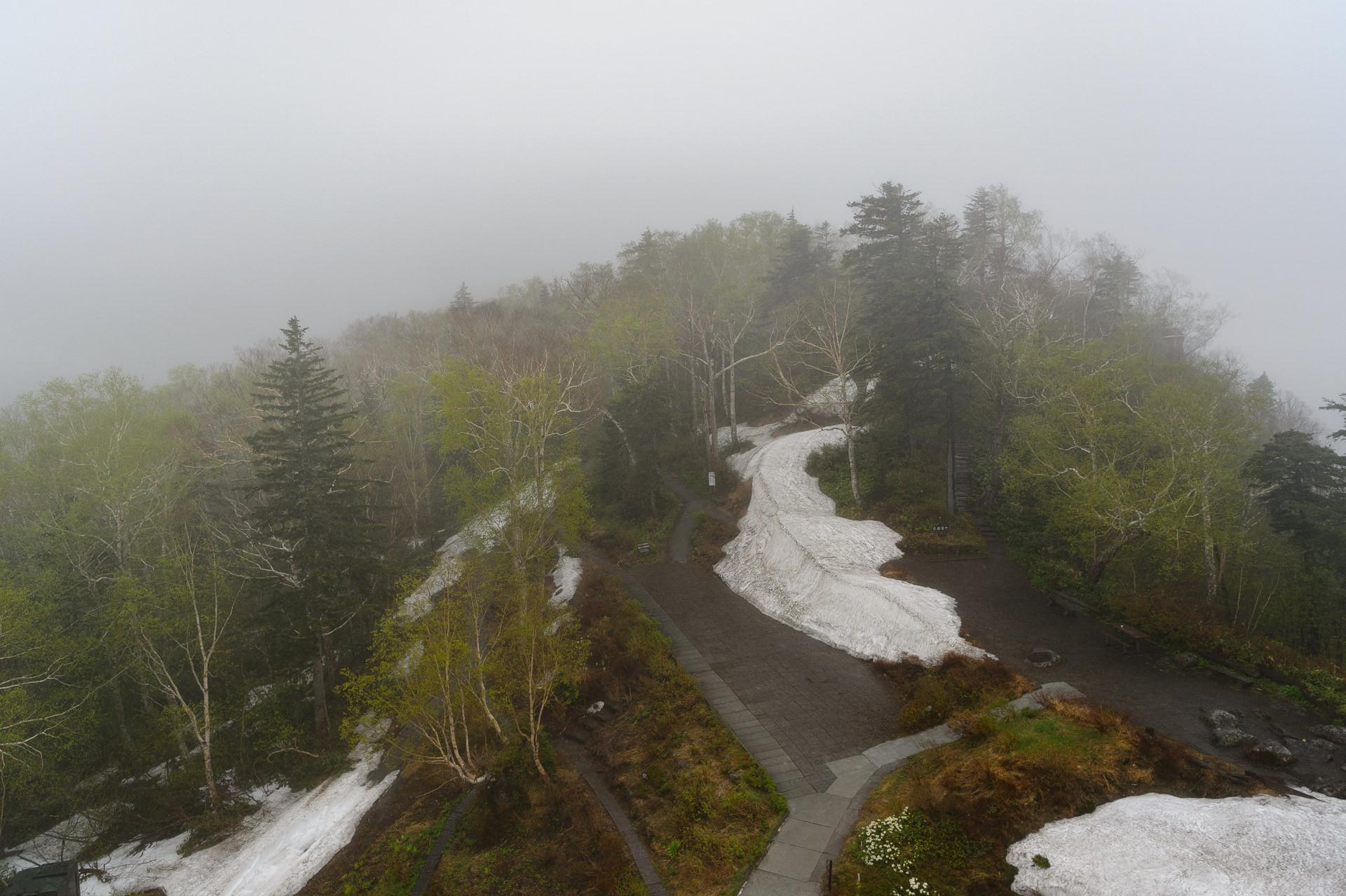 黒岳ロープウェイ、層雲峡