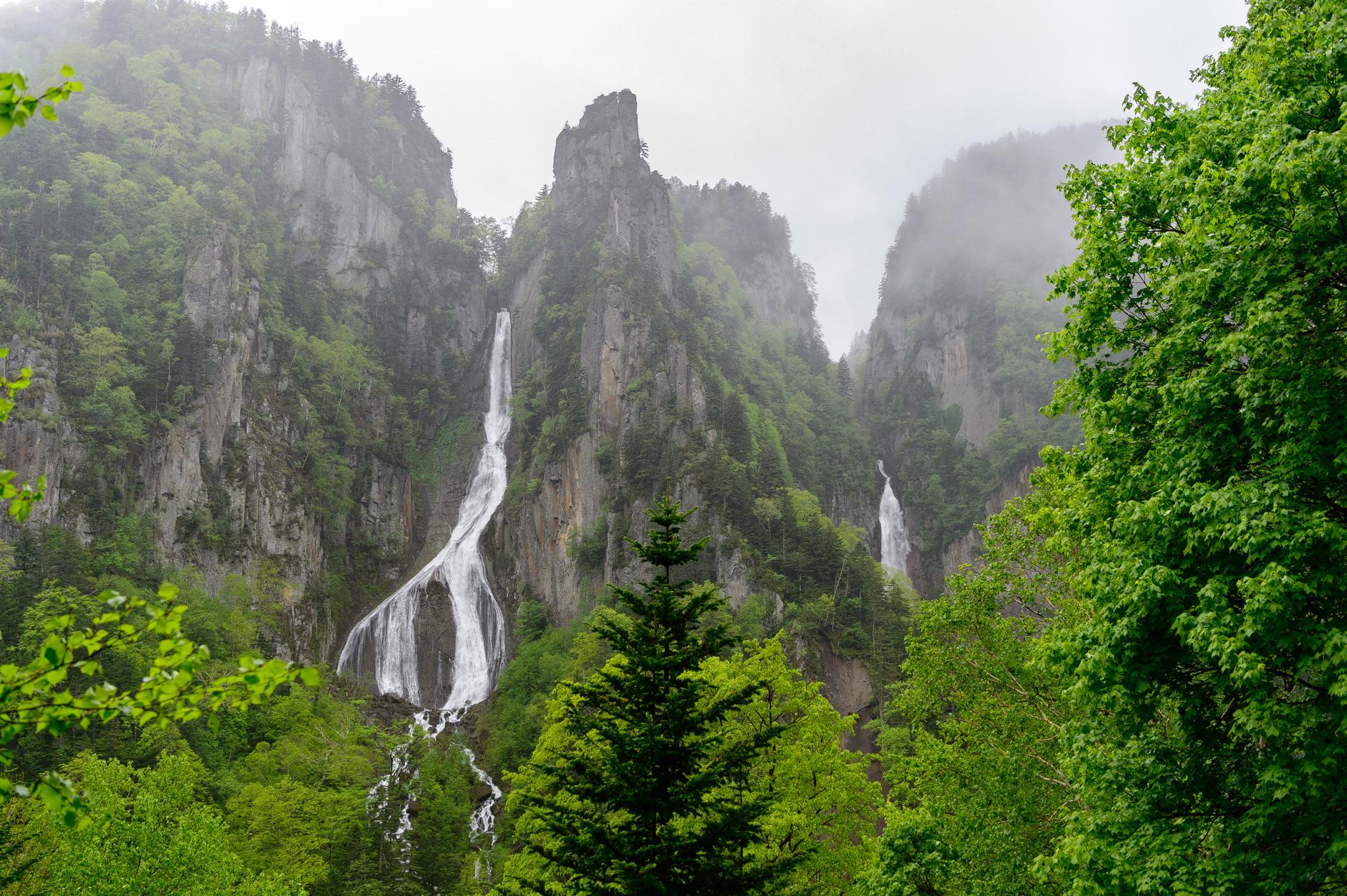 双瀑台、層雲峡