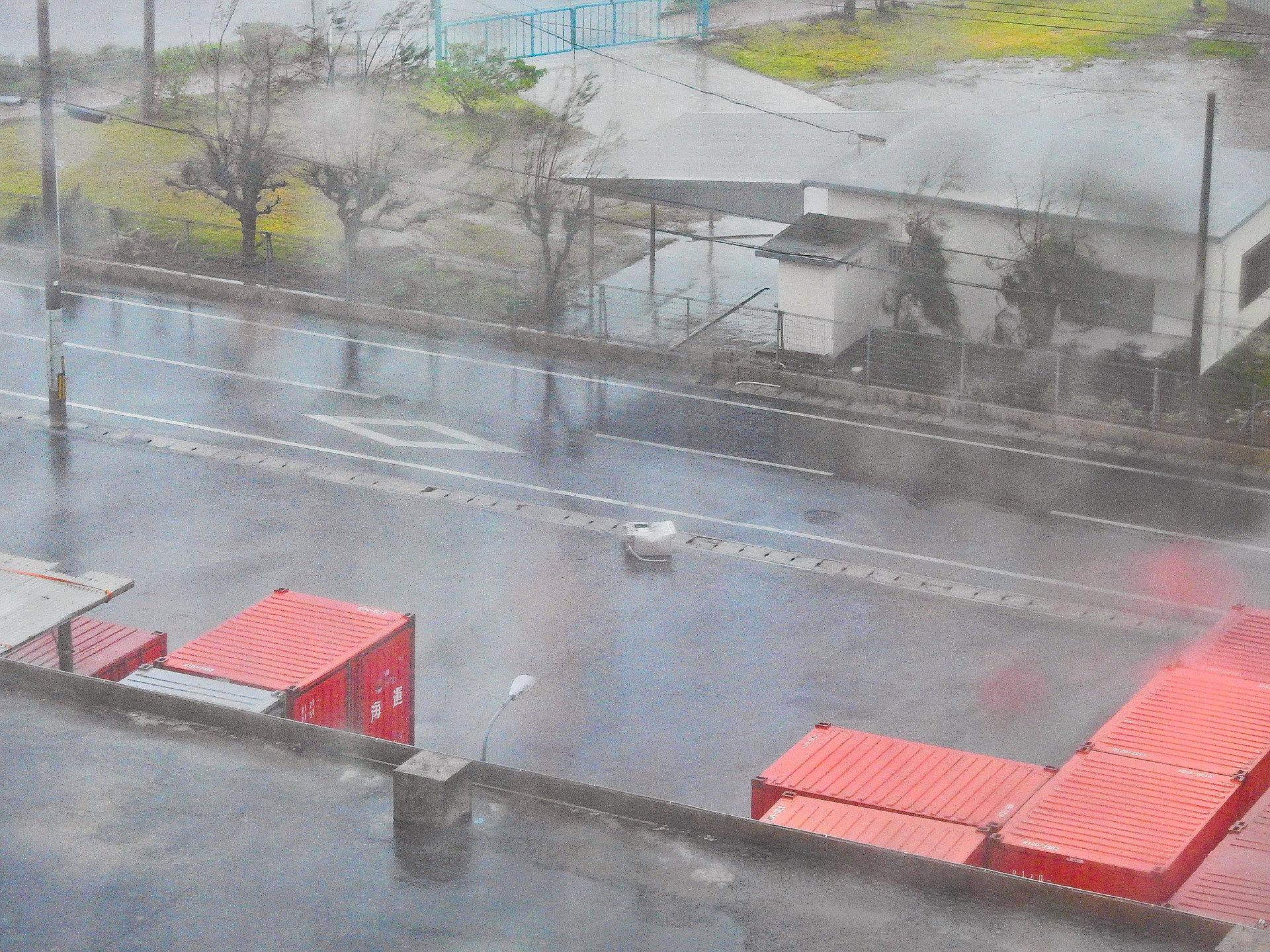 石垣島,台風