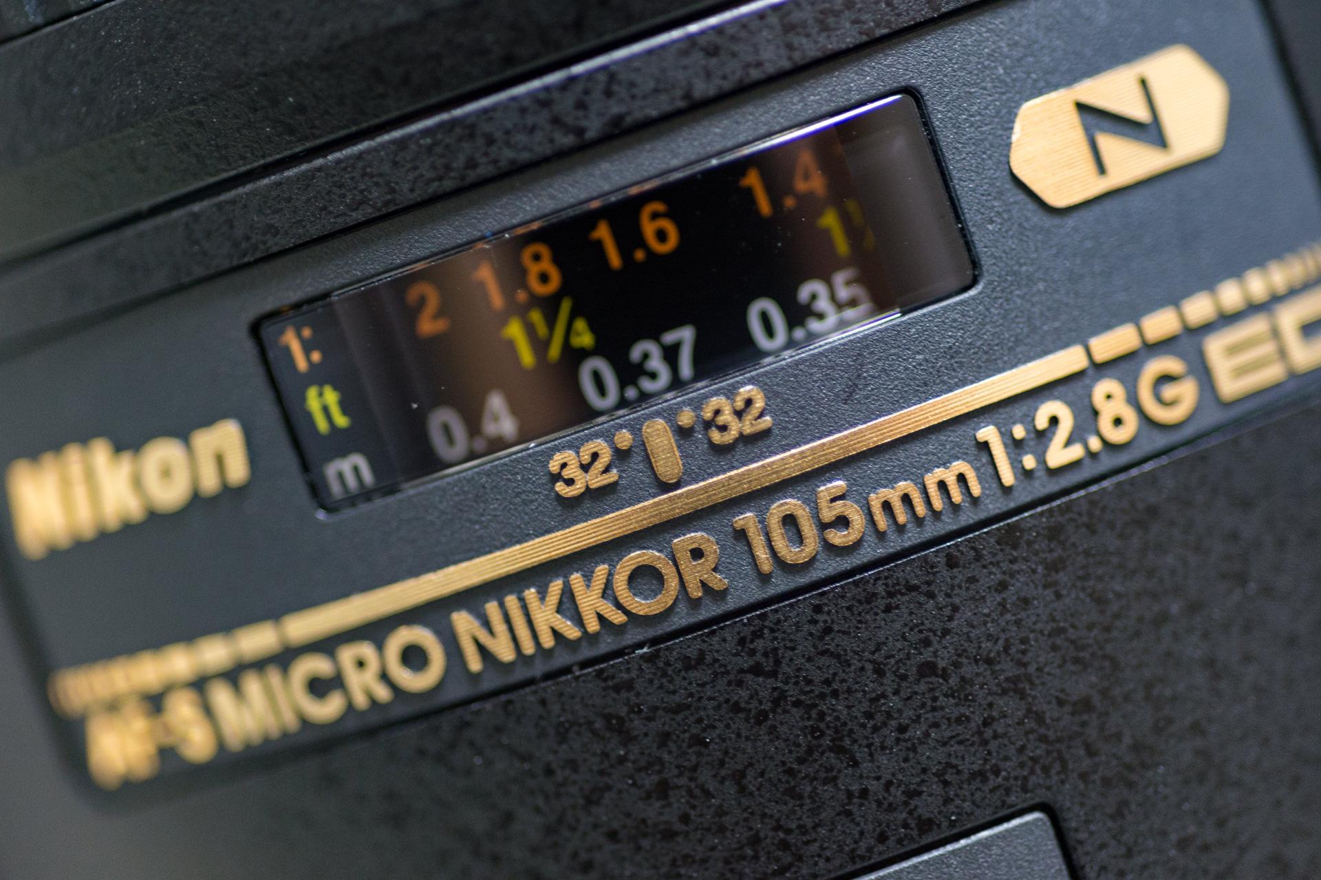 Ai AF Micro-Nikkor 60mm f/2.8D