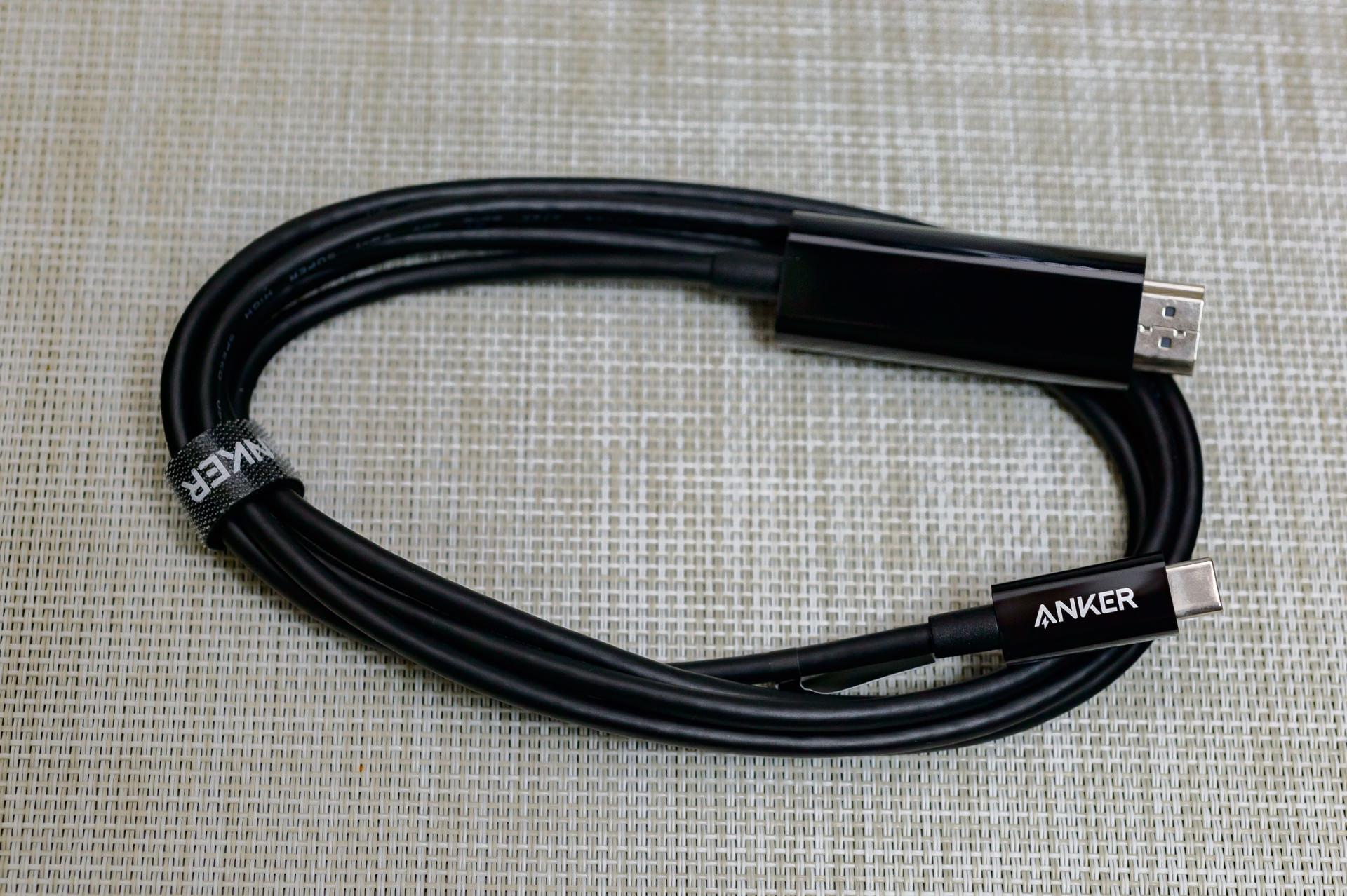 Anker USB-C to HDMIケーブル