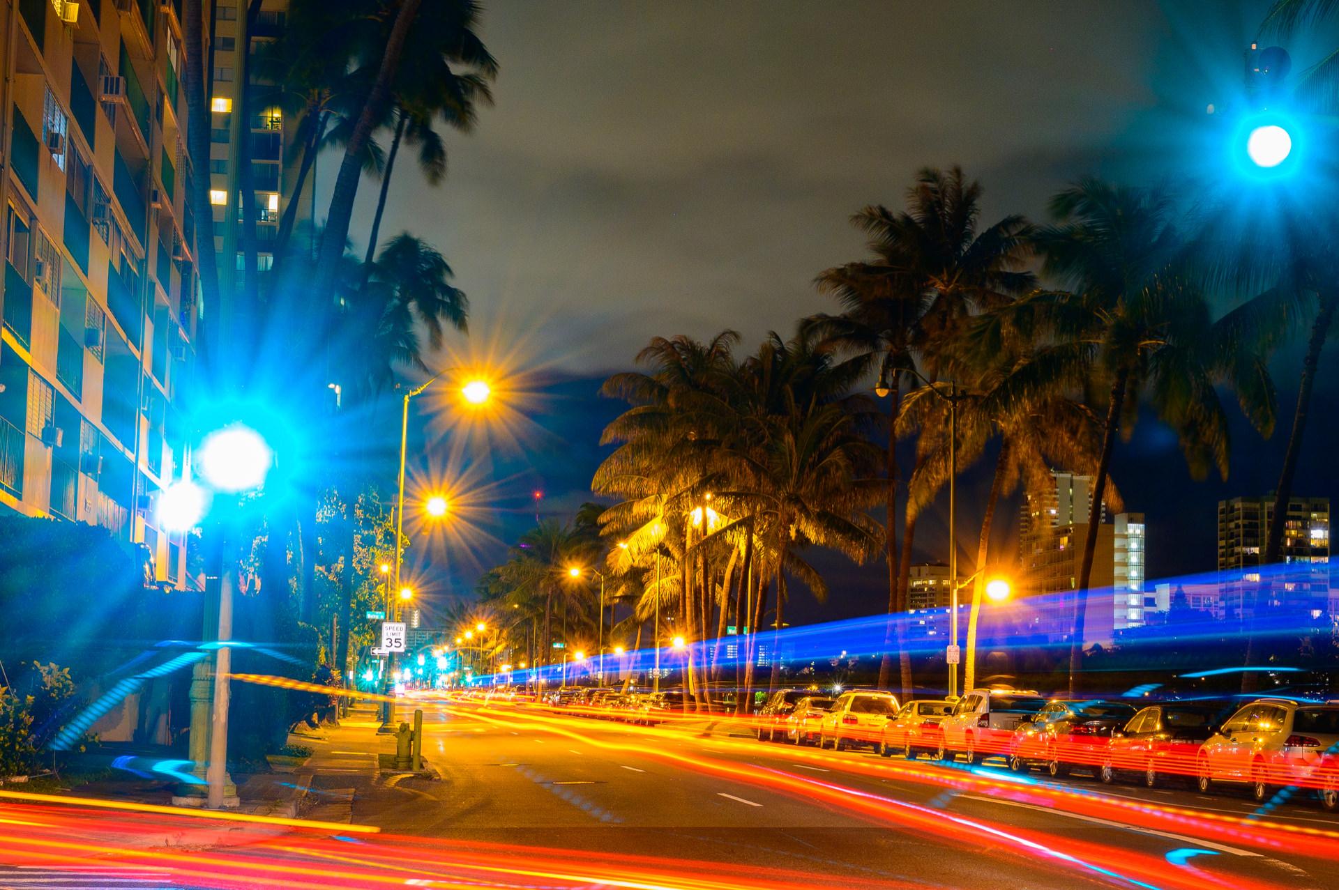 ハワイ夜景