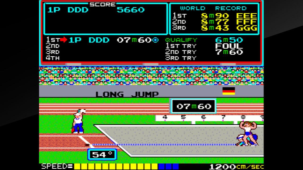 Track & Field(ハイパーオリンピック)
