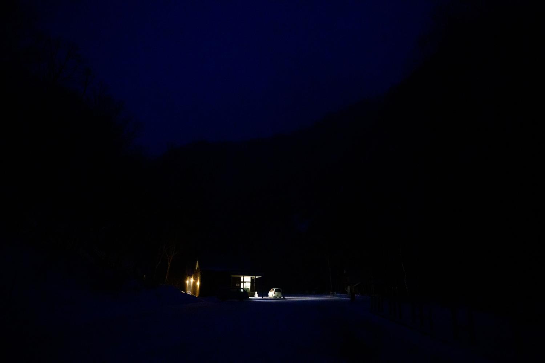 流星の滝 流星の滝