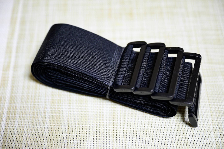 マジックテープ式の非伸縮固定ベルト(5cm幅)